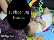 In My Diaper Bag