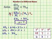 Solve An Equation With A Number In A Different Base