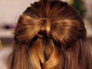 How To Do Festive Bow Hair