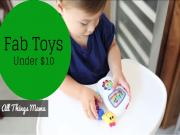 Fab Toys Under 10