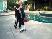 Fancy Poolside Roller Disco Daze