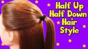 Half Up Half Down Hair Style