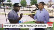 Rapper Almost Walks Off Cnn Over Ferguson Coverage