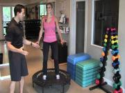Mini Trampoline Cardio Workout