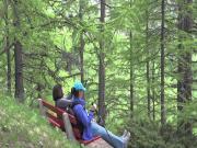 Gornergrat Hike Down To Zermatt Switzerland