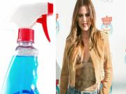 699240 Khloe Kardashian Secret Diet Trick Sprays Windex Like Cleaner On Food