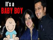 Riteish Deshmukh And Genelia Dsouza Blessed With A Baby Boy
