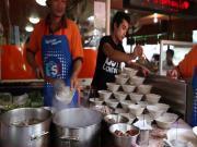 Boat Noodle Alley Bangkok Thailand