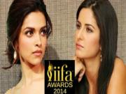 Deepika Padukone Ignores Katrina Kaif At Iifa Awards 2014