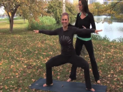 Lower Body Strengthening Yoga Sequence