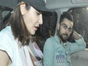 Virat Kohli And Anushka Sharma Attend Salman Khans Sister Arpita Khans Wedding