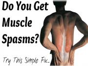 How To Get Rid Of Muscle Spasms Simple Electrolyte Trick