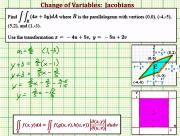 Evaluate A Double Integral