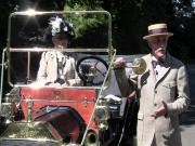 Vintage Car Rally Along The Columbia River Highway