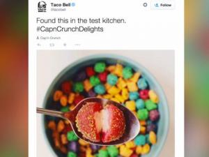 Twitter Is Hungry For Taco Bell Capn Crunch Delights