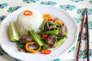 Steak Scallion Stir Fry
