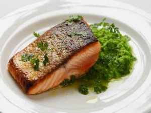 Glazed Salmon Steaks