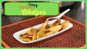Crispy Potato Wedges Easy Snack Idea 1016199 By Sruthiskitchen