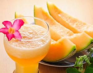 Cantaloupe Craze Smoothie