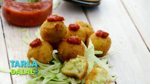 Cheesy Potato Balls 1017431 By Tarladalal