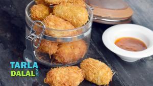 Crunchy Paneer Rolls 1018275 By Tarladalal