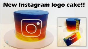 New Instagram Logo Cake 1016375 By Creativecakesbysharon