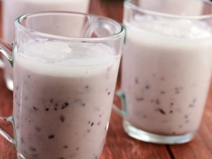 Jamun Smoothie Diabetic Snacks Recipe