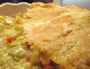Vegetable And Chicken Pot Pie