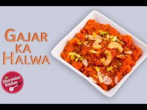 Shahi Gajar Ka Halwa Easy And Tasty Indian Dessert Pudding 1020023 By Sharmilazkitchen