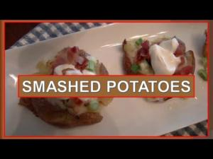 Super Bowl Appetizer Smashed Potatoes 1015110 By Bettyskitchenfare