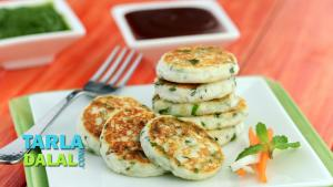 Paneer Phudina Tikki Recipe In Hindi 1019936 By Tarladalal