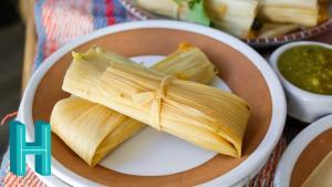 Vegetarian Tamales De Rajas Con Queso 1019427 By Hilahcooking