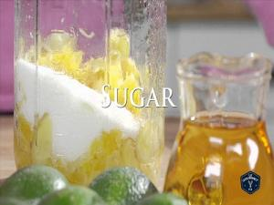 Orange Ginger Shrub Recipe