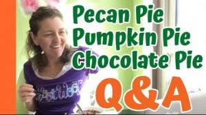 Pecan Pie Chocolate Pie Q And A