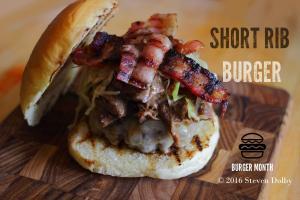 Short Rib Burger