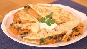 Hearty Sweet Potato And Chipotle Quesadillas 1015979 By Grateandfull