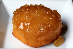 Syrup Glazed Pineapple Upside Down Cake
