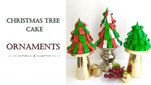 Christmas Tree Ornament Cake How To Make From Creative Cakes 1019226 By Creativecakesbysharon