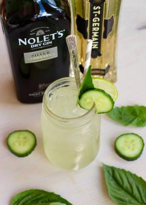 Cocktail Recipe Basil Cucumber Gin Smash By 1015043 By C 4 Bimbos