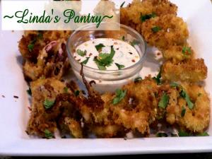 Crispy And Delicious Calamari Appetizer