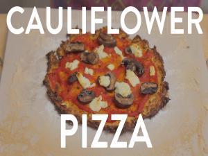 The Best Cauliflower Pizza Crust Ever Healthy Dinner Recipe Gluten Free