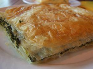 Spinach Spanakopita With Feta
