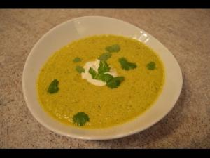 How To Make Cantaloupe And Cucumber Gazpacho 1015008 By Cookingwithkimberly