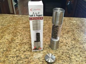 Kuisiware 2 In 1 Salt And Pepper Grinder