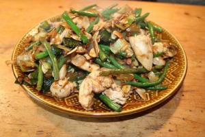 Ten Minute Stir Fry Leftover Chicken