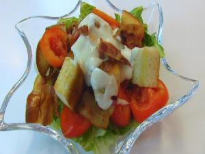 Bettys Blt Salad With Creamy Parmesan Dressing