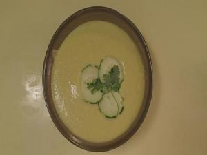 Cool Cucumber And Avocado Soup