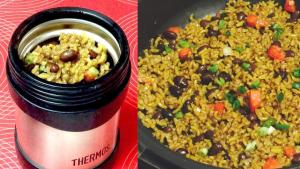 Hot Lunch Black Beans And Brown Rice 1019817 By Bhavnaskitchen
