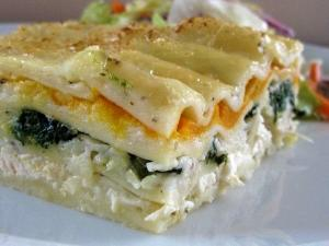 Chicken And Spinach Lasagne One Pot Chef