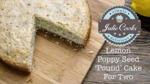 Lemon Poppy Seed Pound Cake For Two 1018557 By Legourmettv